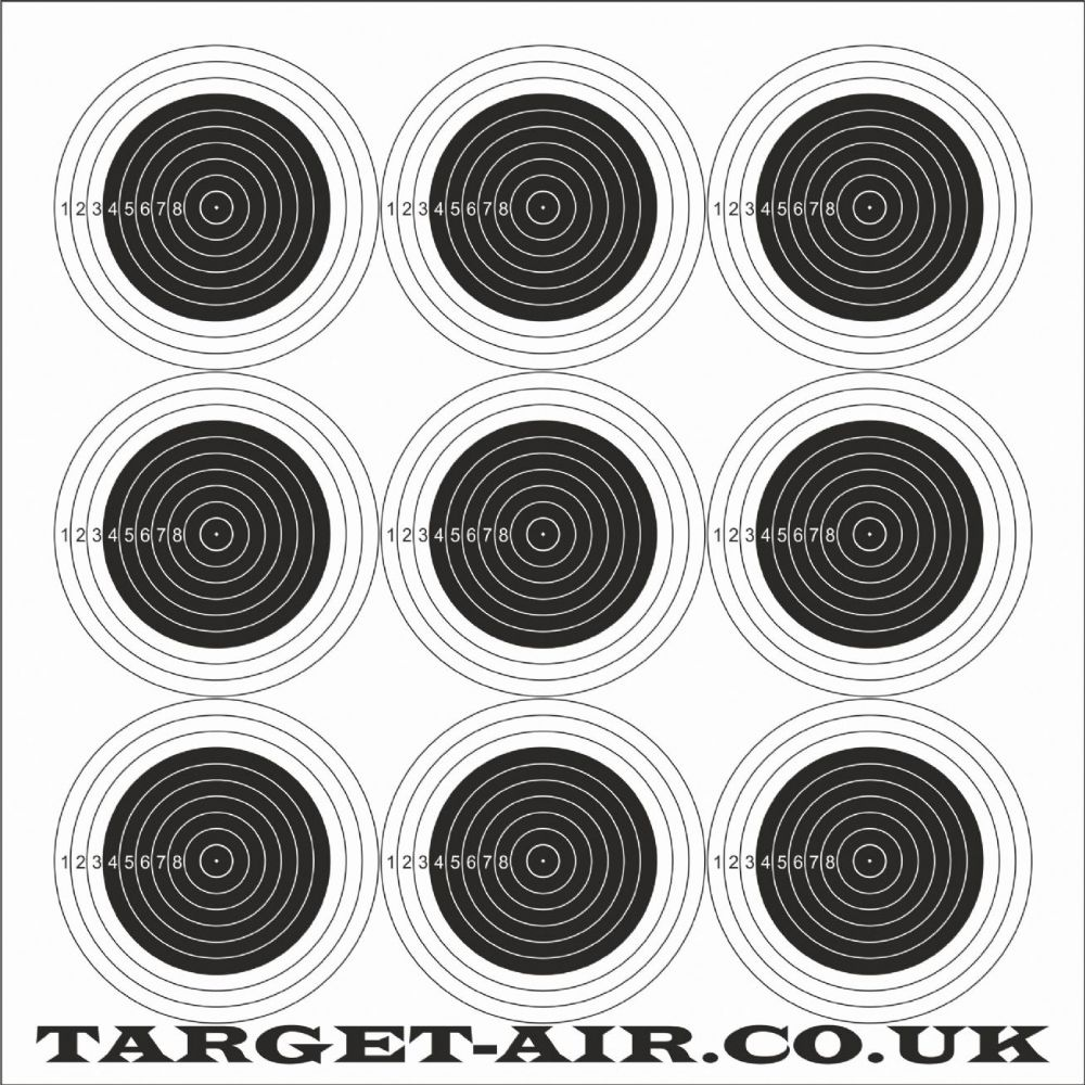 It is a picture of Lucrative Rimfire Targets Printable